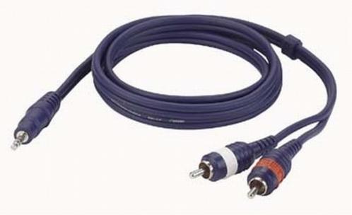 DAP FL30 signaalkabel Stereo mini Jack - 2x Tulp Male