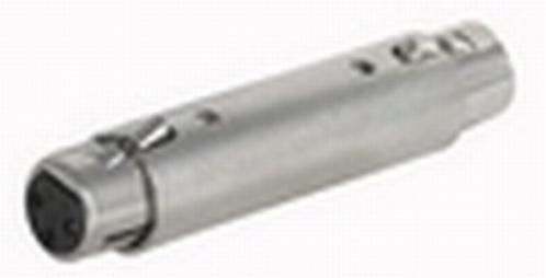 FLA21 koppelstekker XLR F. 3p. / XLR F. 3p.