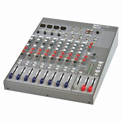 INVOTONE MC12 12-kanaals mixer