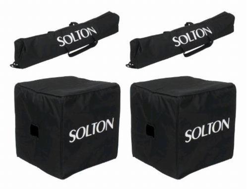 Solton Speakercover voor Twin Array 15 inch set