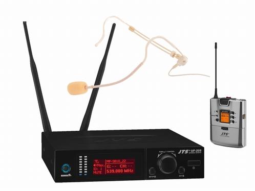 JTS UF-20S/5 Enkele beltpack met headset set