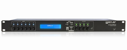 ECLER DAM 614 digitale audiomixer