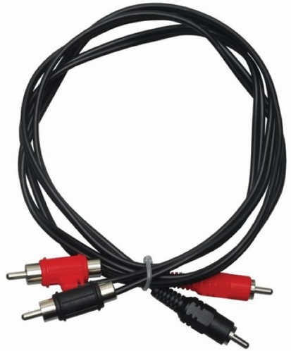 APART Audio Kabel CRYRY (type f) 1.5m RCA male naar RCA male
