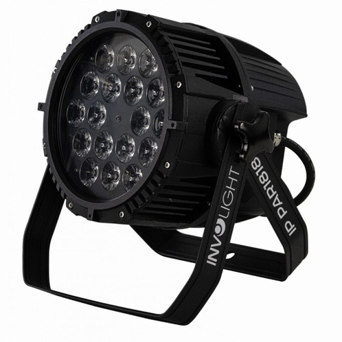 INVOLIGHT IP PAR1818 18x12W LED RGBWA LED's - Outdoor