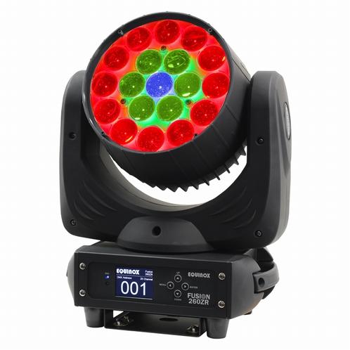 EQUINOX Fusion 260ZR LED Moving Head Wash met zoom