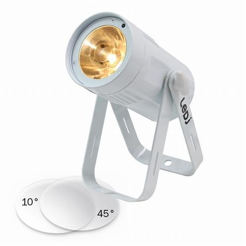 LEDJ Event Spot Warm White MKII - witte behuizing