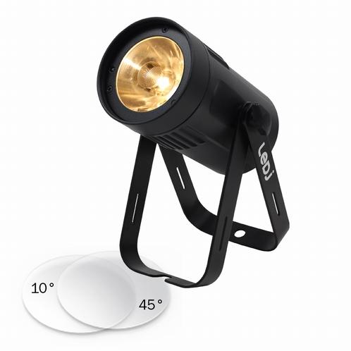 LEDJ Event Spot Warm White Triac - zwarte Behuizing
