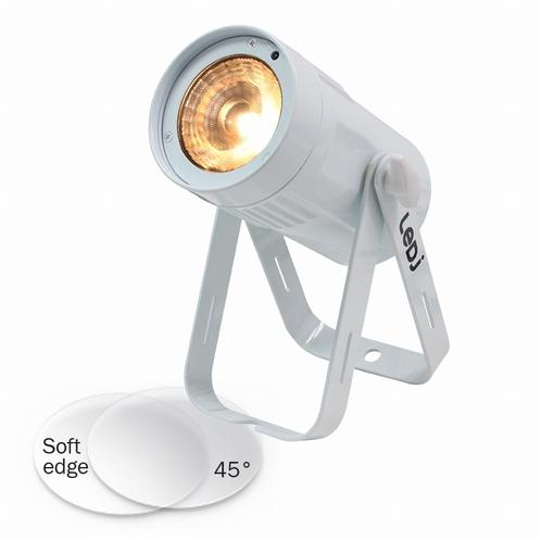 LEDJ Event Spot - Dim to Warm MKII - witte Behuizing