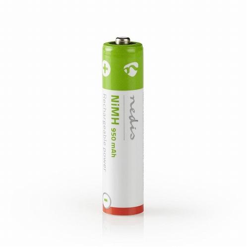 NEDIS OplaadbareNiMH batterij AAA - 1,2V - 950 mAh - 4 stuks