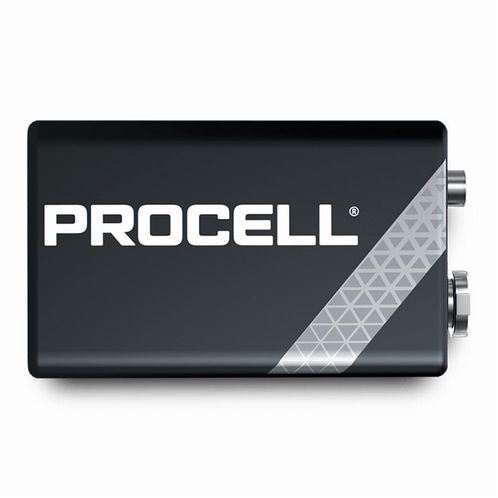 DURACELL PROCELL Alkaline 9V (10 stuks)