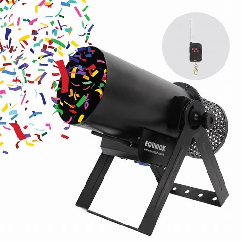 EQUINOX Confetti Burst - confetti kanon
