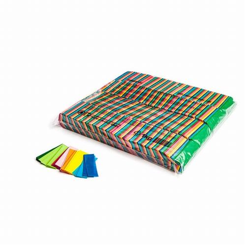 MAGIC FX Confetti Papier 55x17mm - Muli Color (zak 1 kg.)