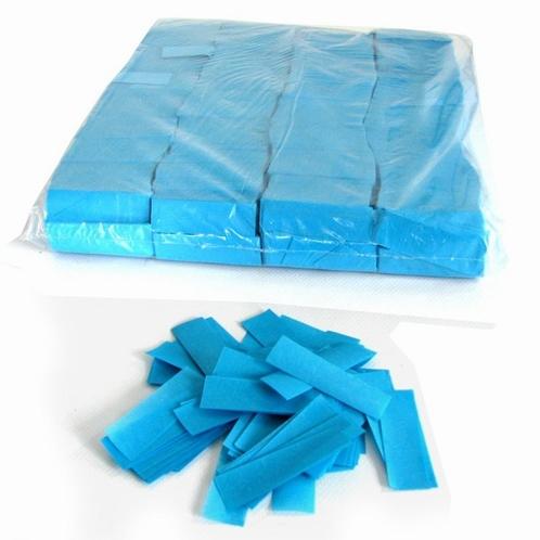 MAGIC FX Confetti Papier 55x17mm - Licht Blauw (zak 1 kg.)