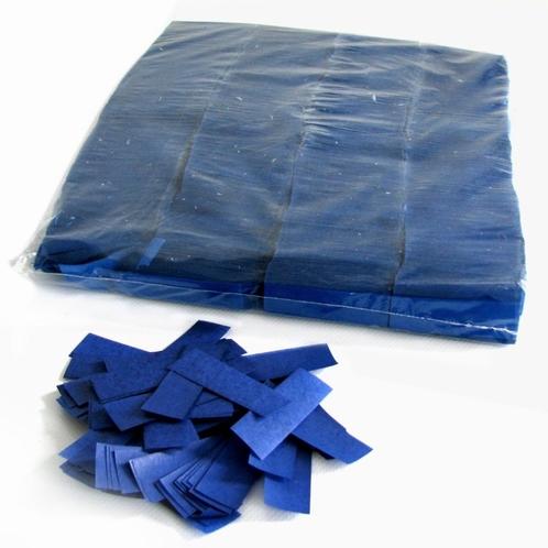 MAGIC FX Confetti Papier 55x17mm - Donker Blauw (zak 1 kg.)