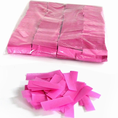 MAGIC FX Confetti Papier 55x17mm - Roze (zak 1 kg.)