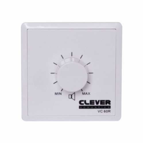 CLEVER Acoustics VC 60R 100V 60W Volume Control + Relay