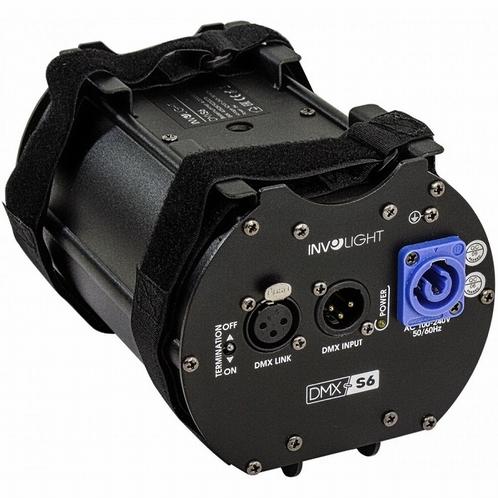 INVOLIGHT DMXS6 6-weg DMX Splitter/Repeater met PowerCon