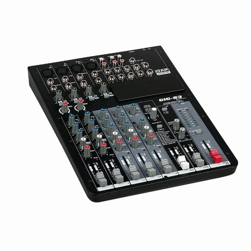 DAP D2282 GIG-83CFX 8 Channel mixer incl. dynamics & DSP