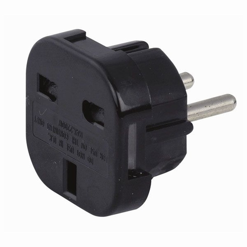 DAP 90450 UK to Schuko power plug adapter