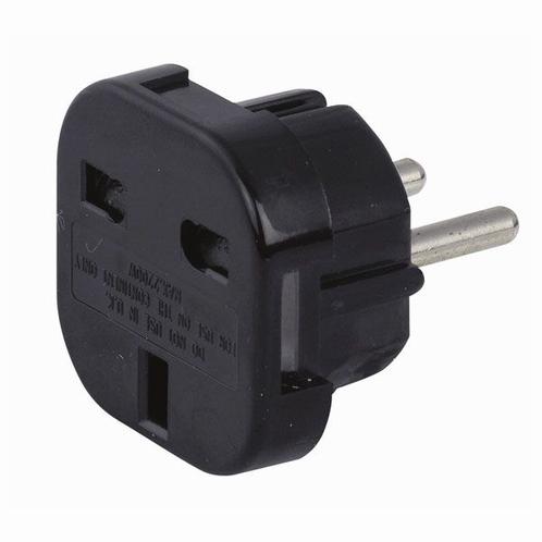 DAP 90450 UK to Schuko power plug adapter