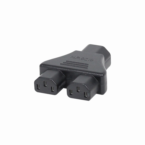 LEDJ CABL106 Adapter IEC Male – 2 IEC Female 10A