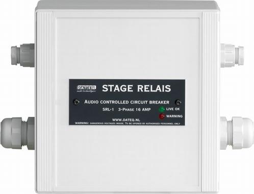 DATEQ SRL-1 Relay-Box Power interrupter SPL3/TS/5/D2/D3