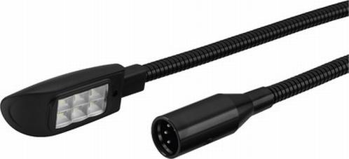 MONACOR GNL-454XLR LED Zwanenhals lampje (XLR4)