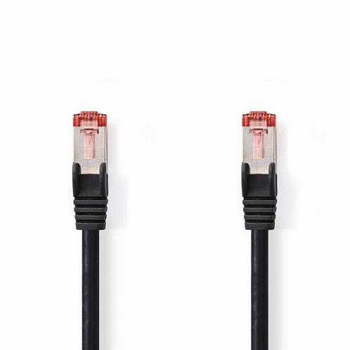 NEDIS CAT6 S/FTP Netwerkkabel - RJ45 Male-RJ45 Male - Zwart