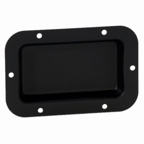 ADAM HALL 8705BLK Schotel zwart ongeperforeerd 115 x 65 mm