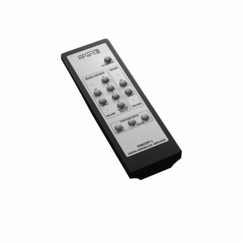 APART Audio CONCEPT1-RC IR afstandsbediening Concept1 en 1T