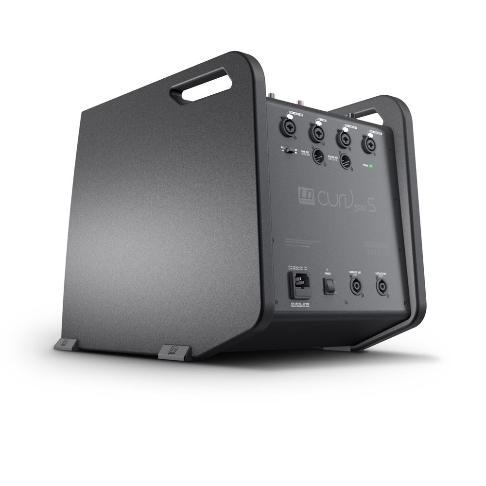 LD SYSTEMS CURV 500 PS:   mobiel power PA systeem (920W RMS)