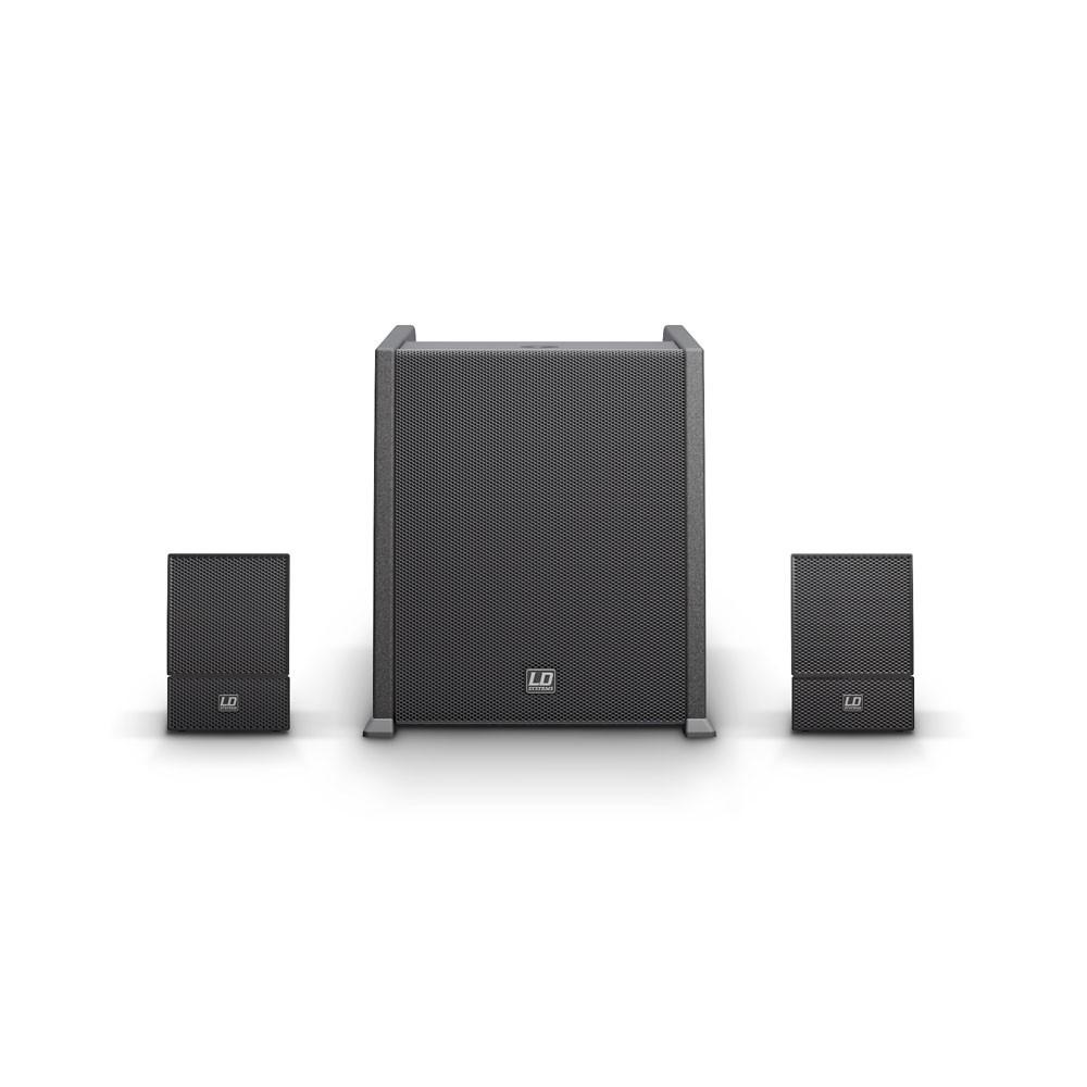 LD SYSTEMS CURV 500 AVS:  mobiele array AV set (380W RMS)