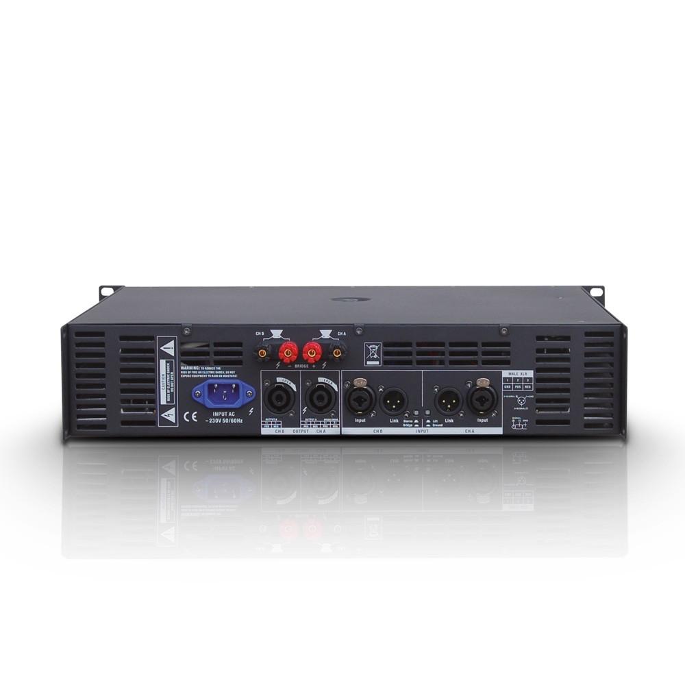 LD SYSTEMS DEEP2 600: 2-kanaals Power Amp (2x300W@2Ohm)