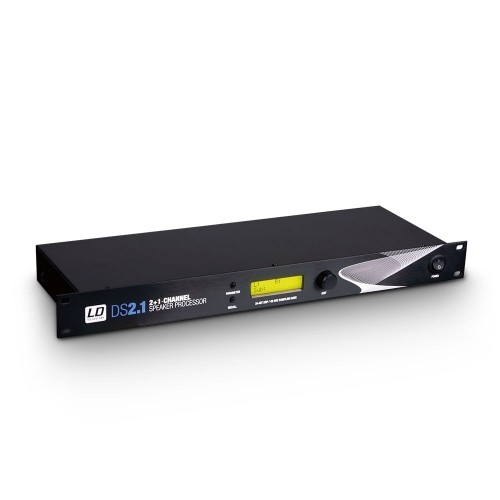 LD SYSTEMS DS 21: 3-kanaals 19S DSP Controller