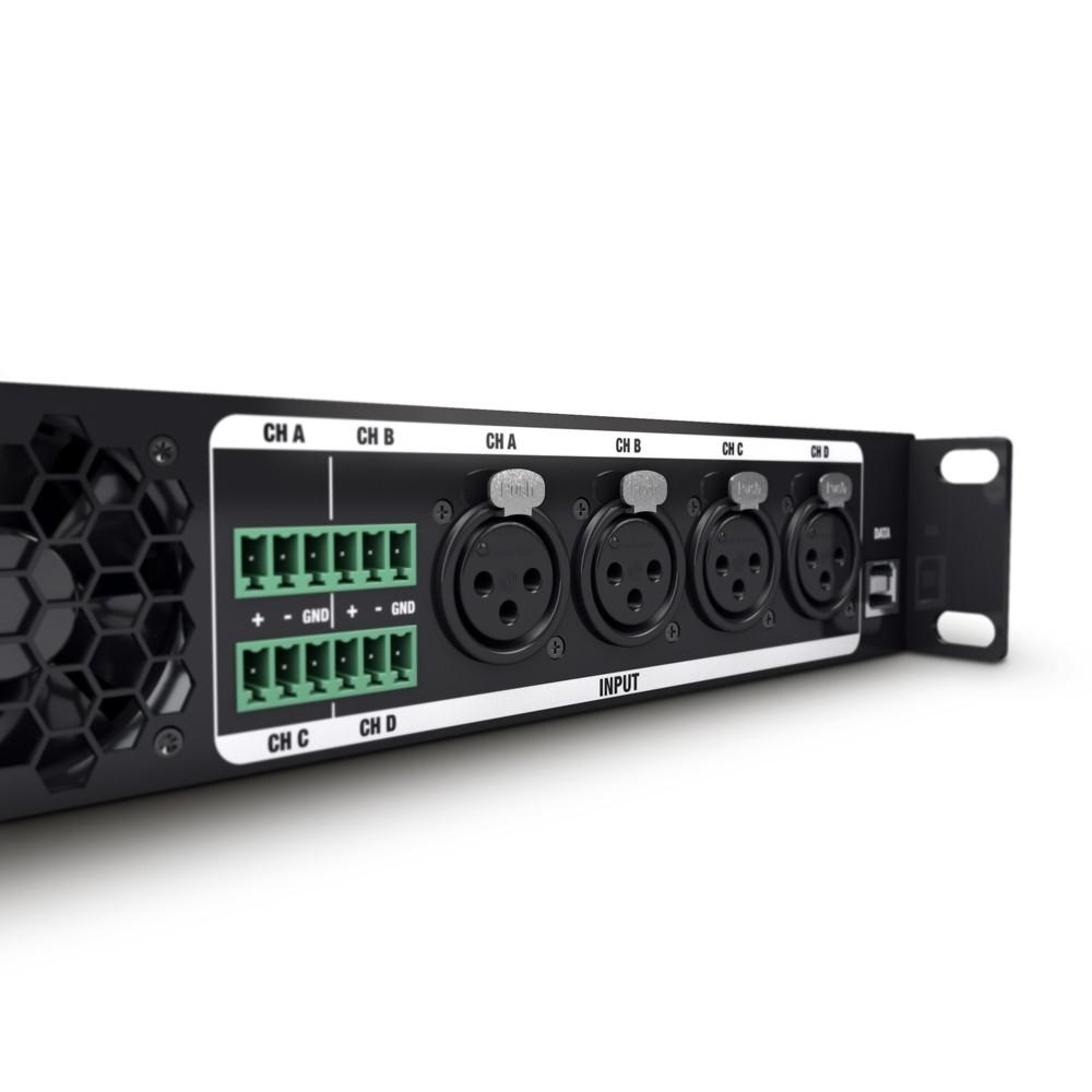 LD SYSTEMS CURV 500 iAMP: 4-kanaals Klasse D installatie amp