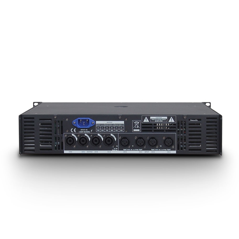 LD SYSTEMS DEEP2 4950: 4-kanaals Power Amp (4x810W@4Ohm)