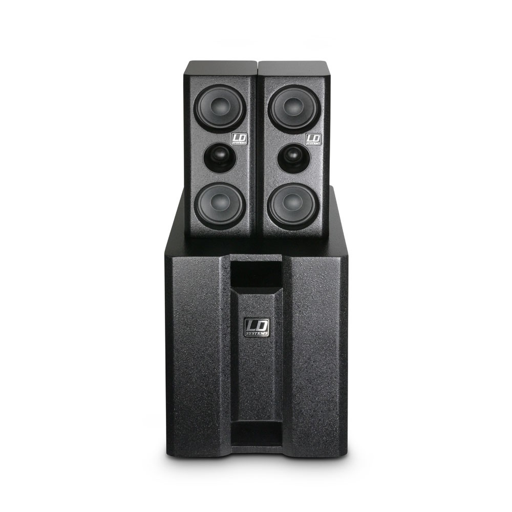 LD SYSTEMS DAVE 8XS: actief multi media systeem (350W RMS)
