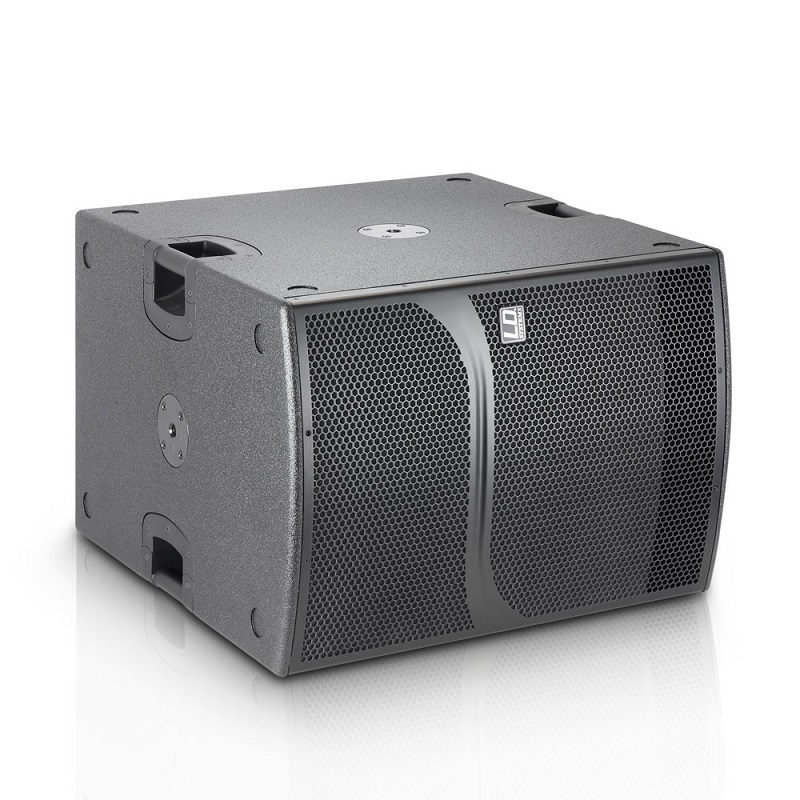 """LD SYSTEMS DDQ SUB 18: actieve 18"""" Sub met DSP (1400W RMS)"""