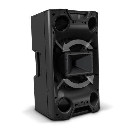 LD SYSTEMS ICOA 15 A: actieve coaxiale PA speaker (300W RMS)
