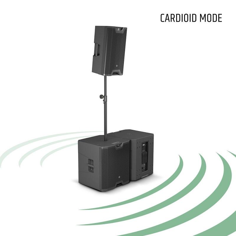 "LD SYSTEMS ICOA SUB 18A: Actieve Sub 18"" Bass reflex"