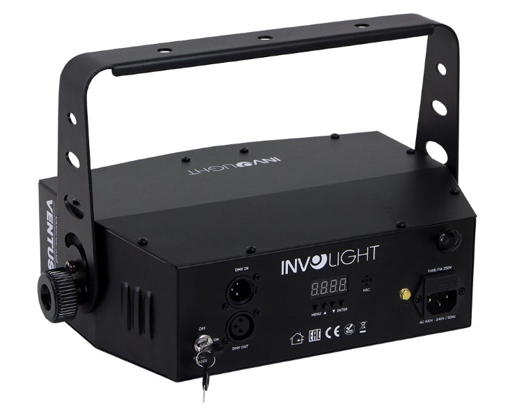 INVOLIGHT Ventus M Multi-effect: Beamflower+Laser+Strobe