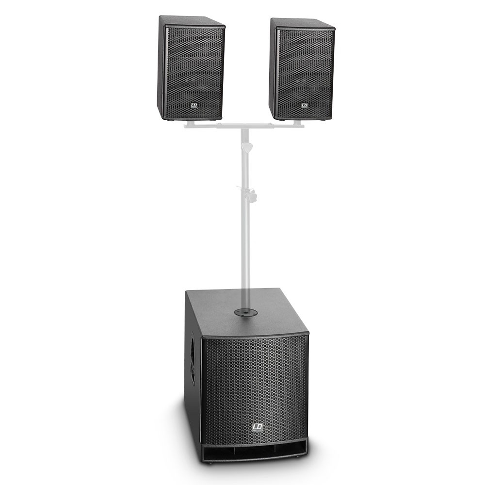 LD SYSTEMS DAVE 10 G3: compact 10S actief systeem (350W RMS)