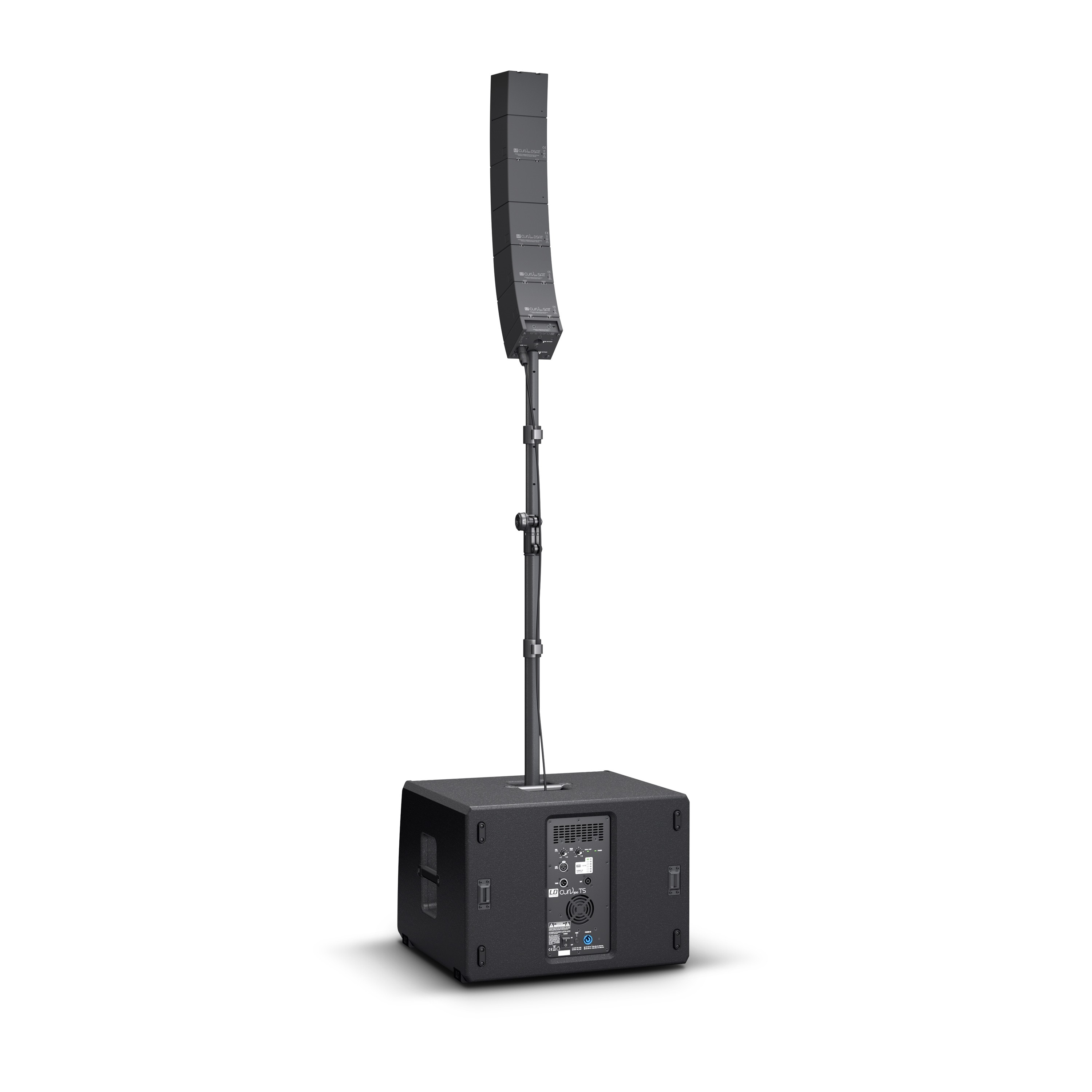 LD SYSTEMS CURV 500 TS: compact array systeem (1000W RMS)
