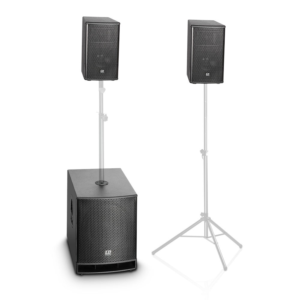 LD SYSTEMS DAVE 12 G3: compact12S actief systeem (500W RMS)