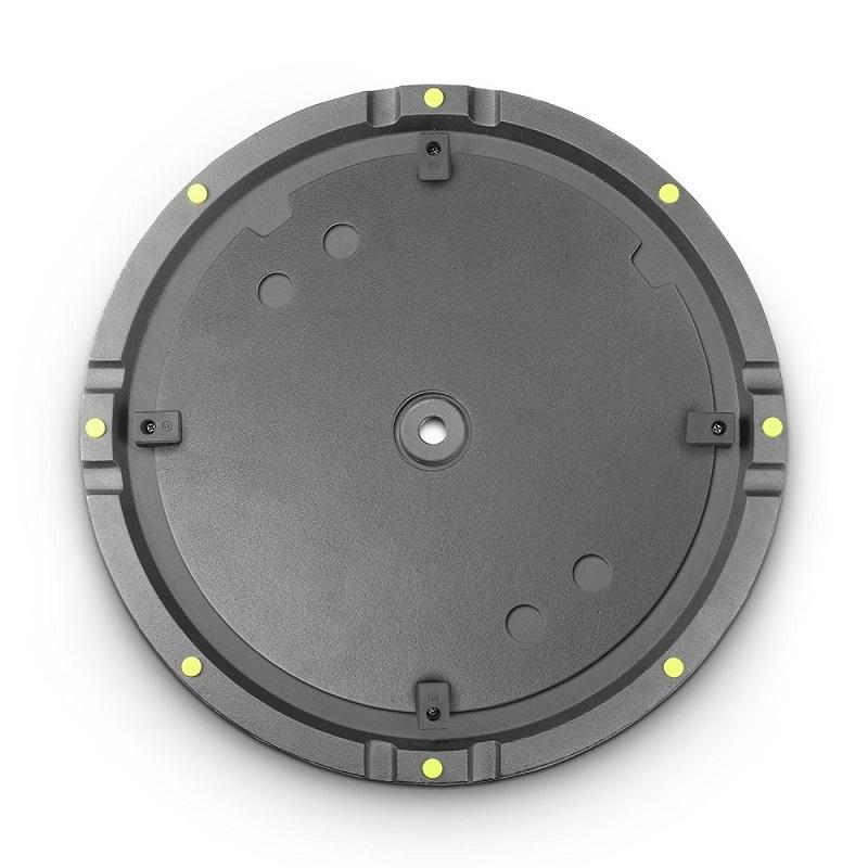 GRAVITY WB 123 SET 1 B: grondplaat voor M20 speakerpaal