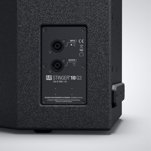 LD SYSTEMS STINGER 10 G3: passieve 10S PA speaker (300W RMS)