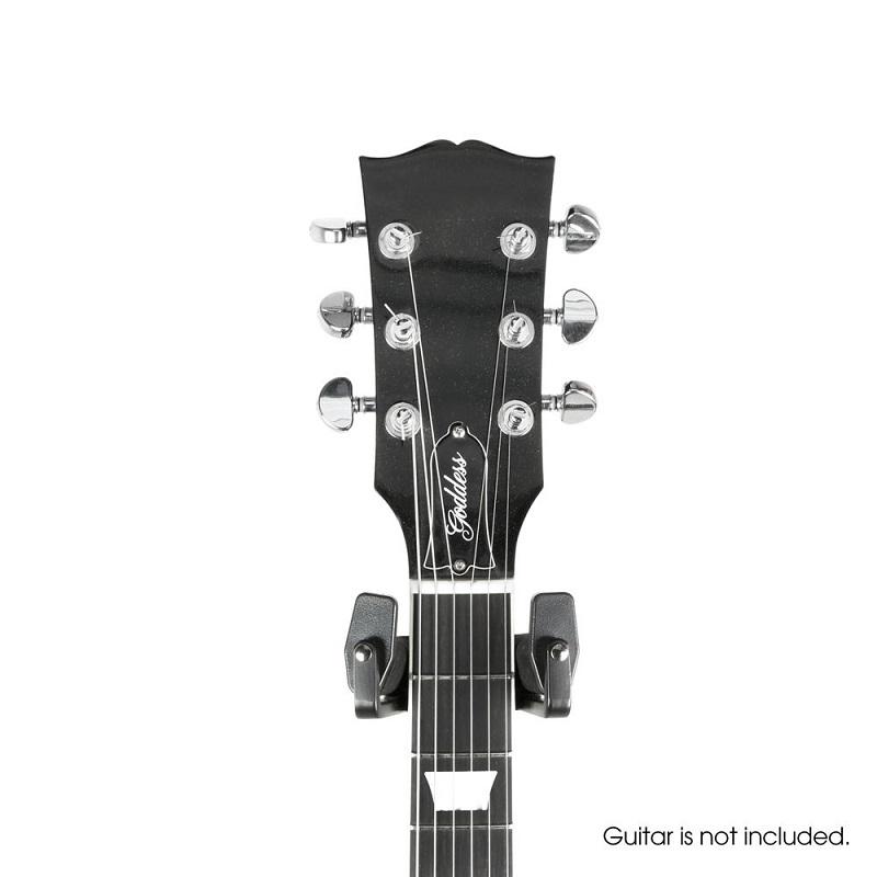 GRAVITY GS 01 WMB: universele muurbeugel voor gitaren