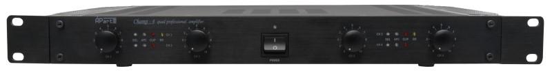 APART Audio CHAMP-4 versterker zonder fan 4x125 W/4 ohm 1HE