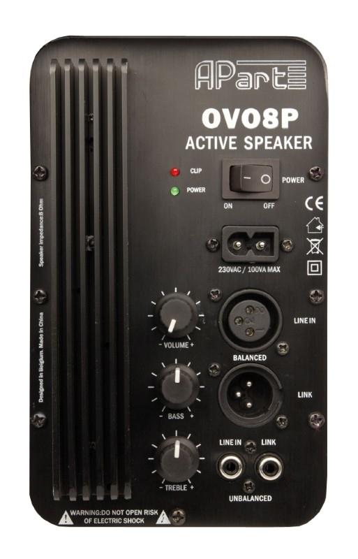 APART Audio OVO8P 60W RMS Actieve speaker (per stuk)