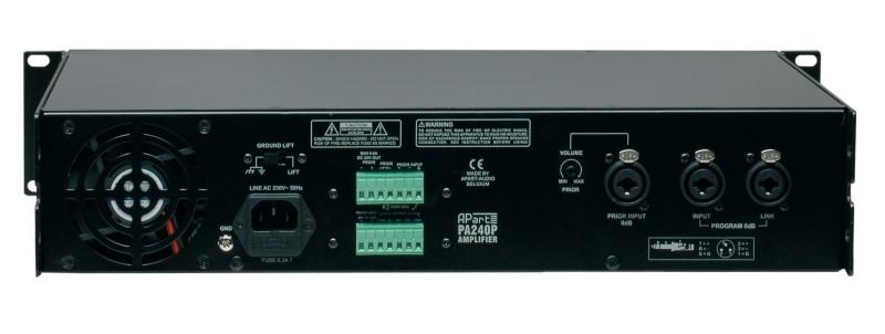 APART Audio PA240P 240W / 100V versterker